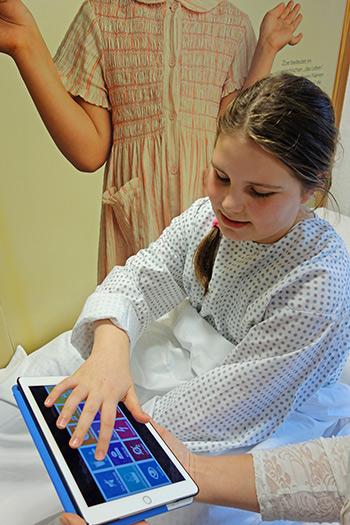maedchen im krankenhaus